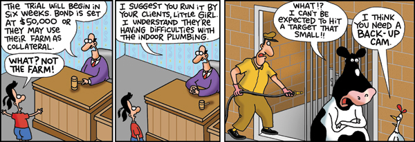 2 Cows and a Chicken for May 16, 2014 Comic Strip