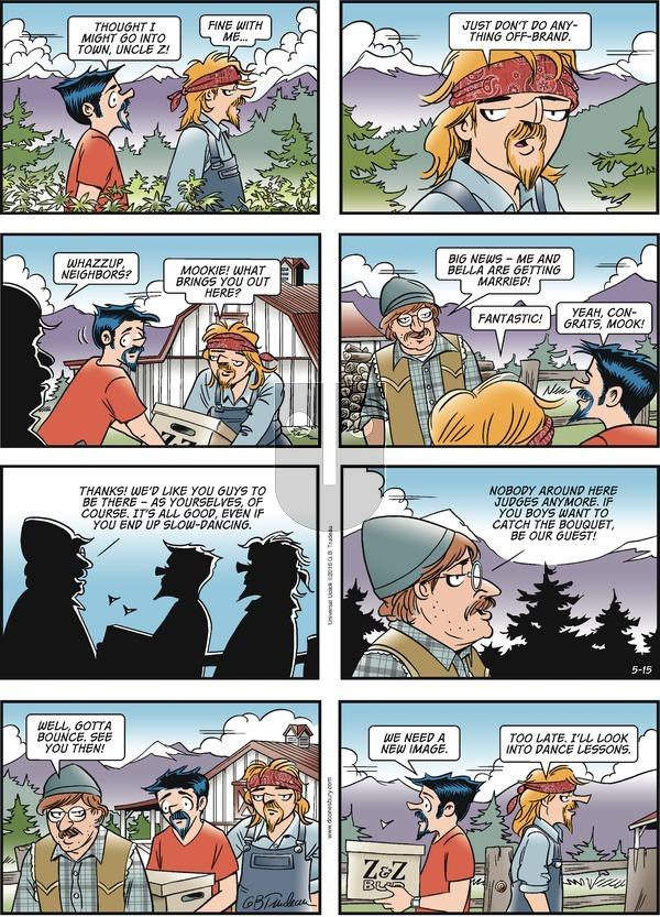 Doonesbury on Sunday May 15, 2016 Comic Strip