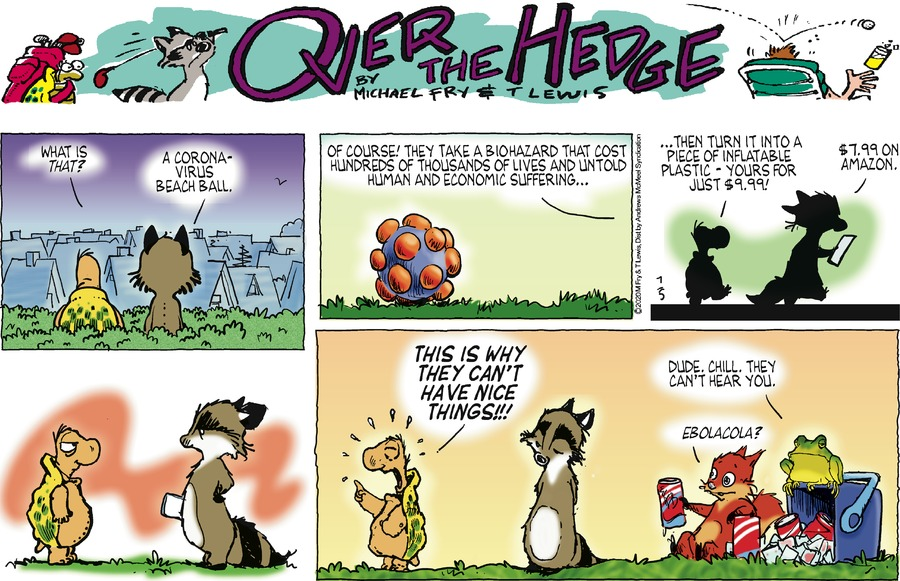 Over the Hedge by T Lewis and Michael Fry on Sun, 05 Jul 2020