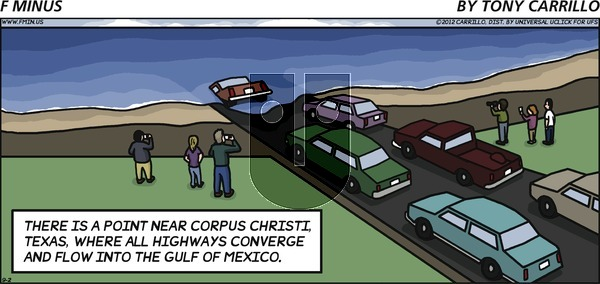 F Minus on Sunday September 2, 2012 Comic Strip