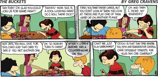 The Buckets on Sunday November 11, 2018 Comic Strip