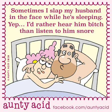 Aunty Acid Comic Strip for February 16, 2020