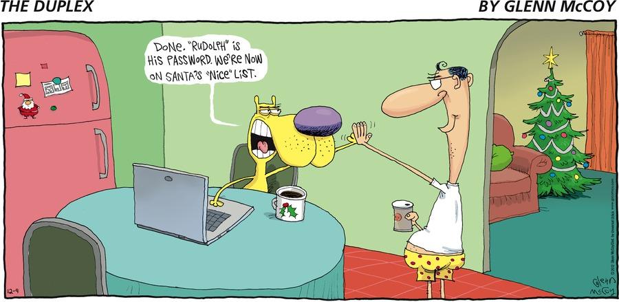 The Duplex for Dec 9, 2012 Comic Strip