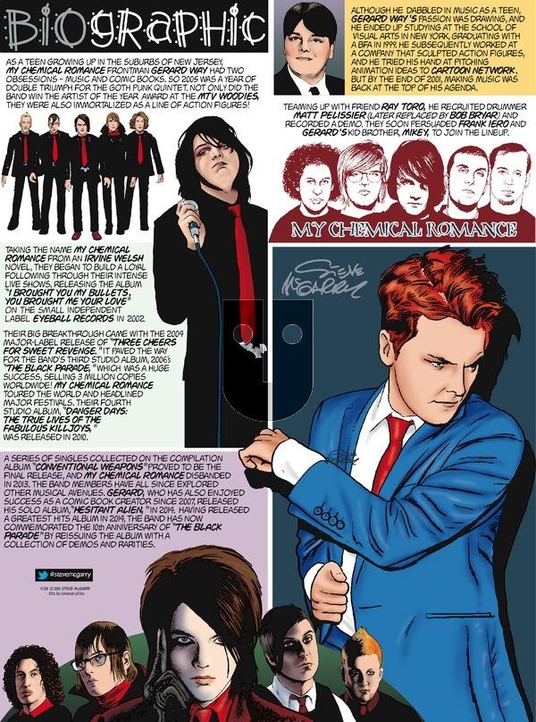 Biographic on Sunday September 25, 2016 Comic Strip