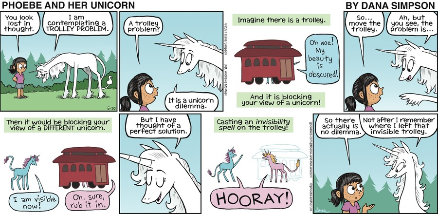 Phoebe and Her Unicorn Comic Strip for May 30, 2021