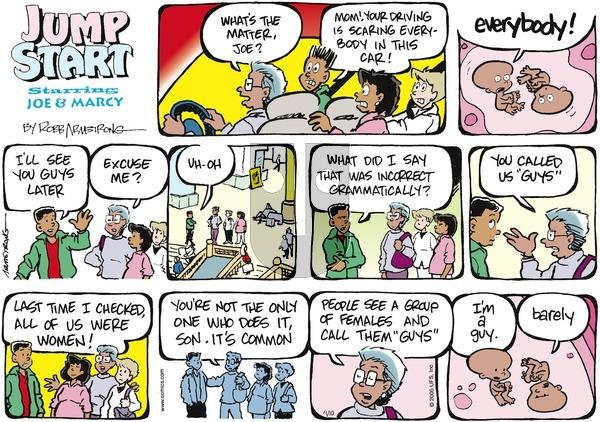 JumpStart - Sunday April 10, 2005 Comic Strip
