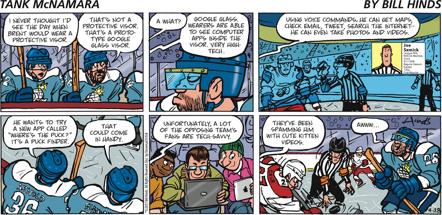 Tank McNamara for Apr 28, 2013 Comic Strip