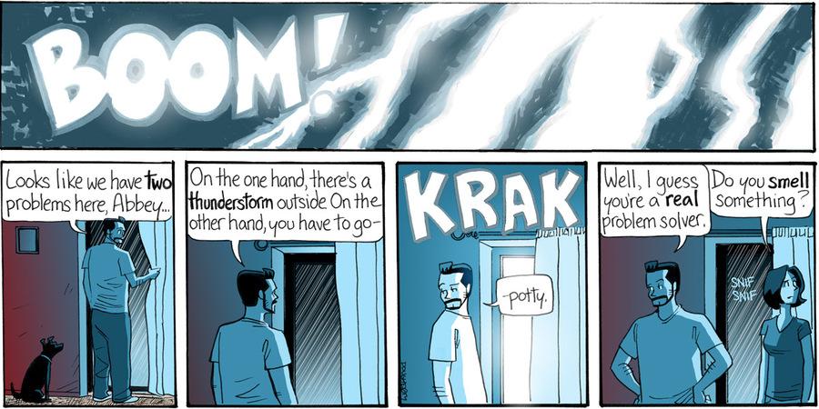 Beardo for Apr 29, 2013 Comic Strip
