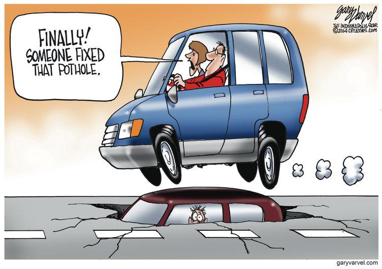 Gary Varvel for Jan 15, 2014 Comic Strip