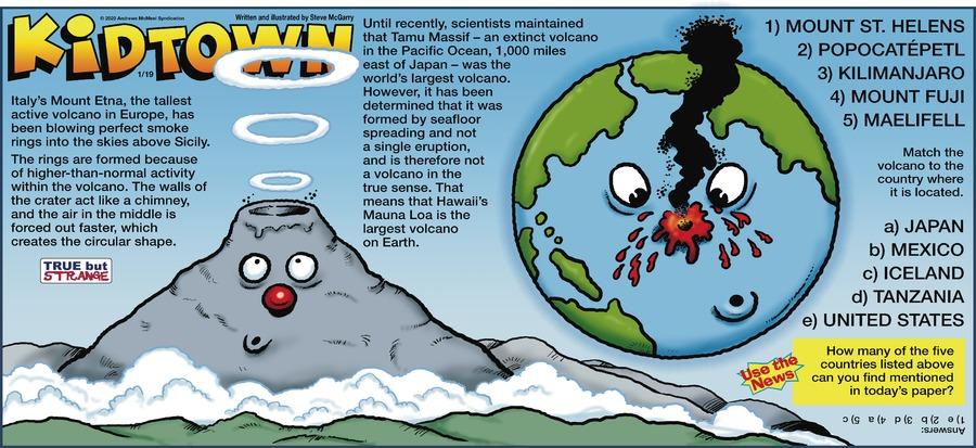 KidTown Comic Strip for January 19, 2020
