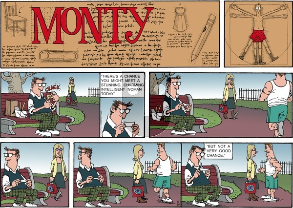 Monty on Sunday October 25, 2015 Comic Strip
