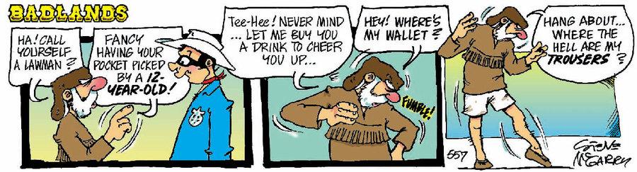 Badlands Comic Strip for October 31, 2020