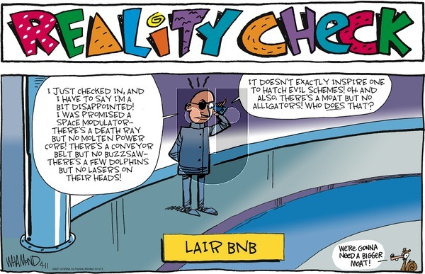 Reality Check on Sunday April 11, 2021 Comic Strip