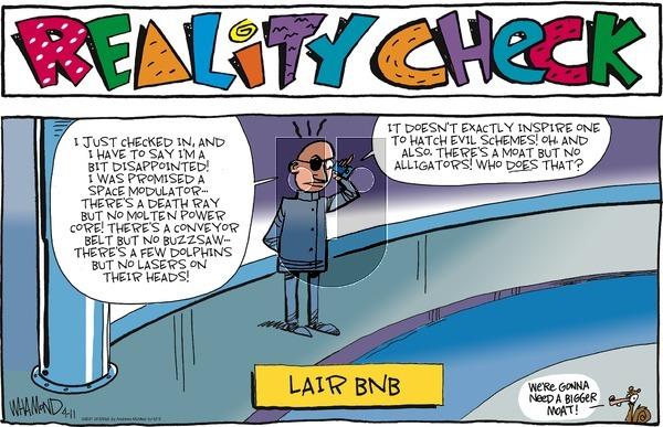 Reality Check - Sunday April 11, 2021 Comic Strip