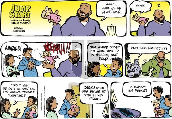 JumpStart on Sunday March 17, 2019 Comic Strip