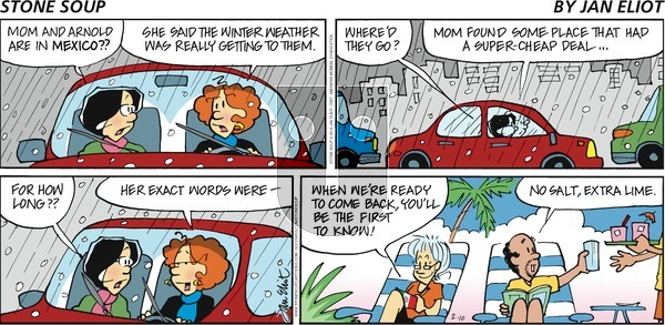 Stone Soup on Sunday February 10, 2019 Comic Strip