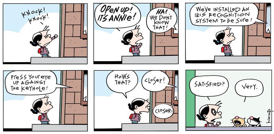 Ten Cats for Feb 18, 2018 Comic Strip