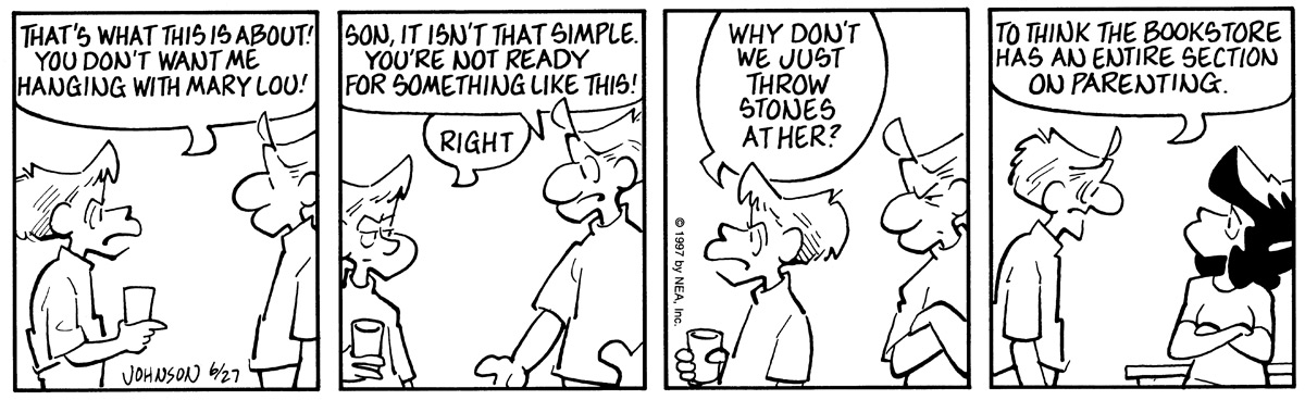 Arlo and Janis for Jun 27, 1997 Comic Strip