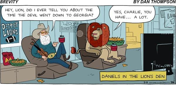Brevity - Sunday March 8, 2020 Comic Strip