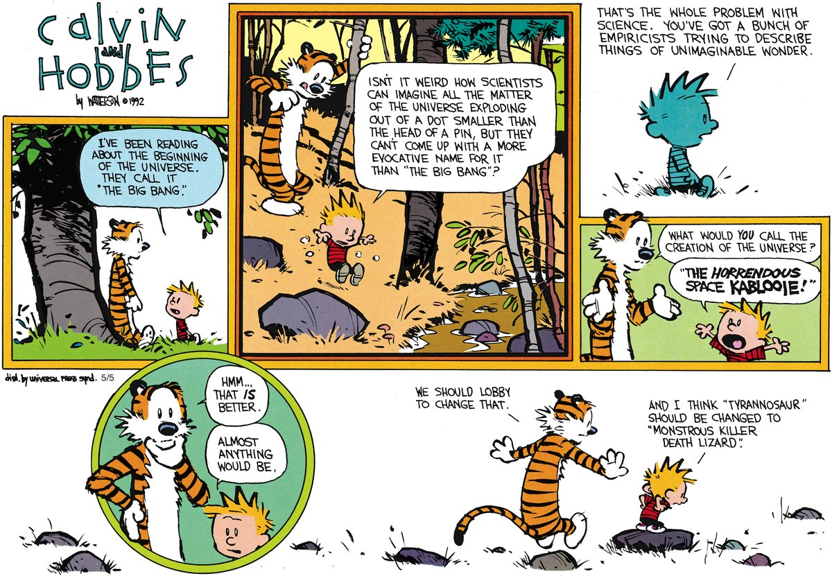 Calvin and Hobbes Comic Strip for June 24, 2012