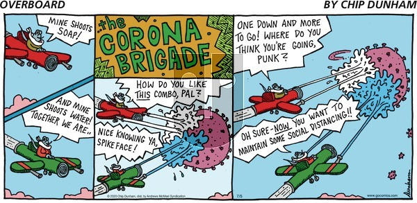 Overboard on Sunday July 5, 2020 Comic Strip