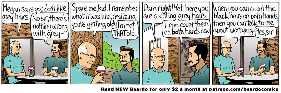 Beardo Comic Strip for April 11, 2021