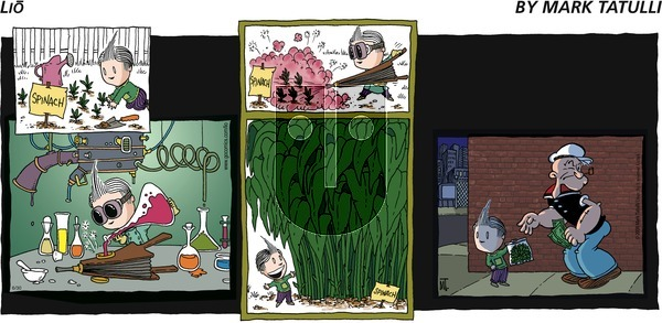 Lio on Sunday June 30, 2013 Comic Strip