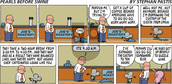 Pearls Before Swine on Sunday August 14, 2016 Comic Strip