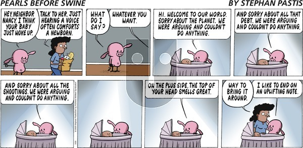 Pearls Before Swine on Sunday March 29, 2020 Comic Strip