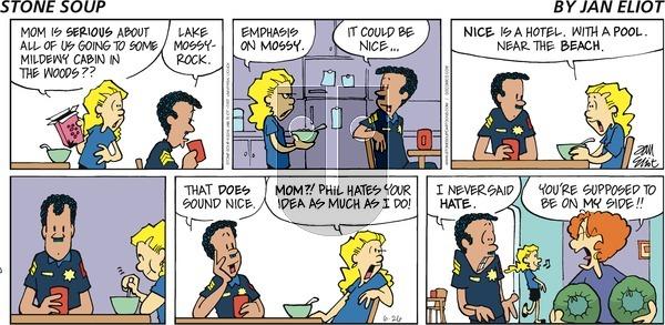 Stone Soup on Sunday June 26, 2016 Comic Strip