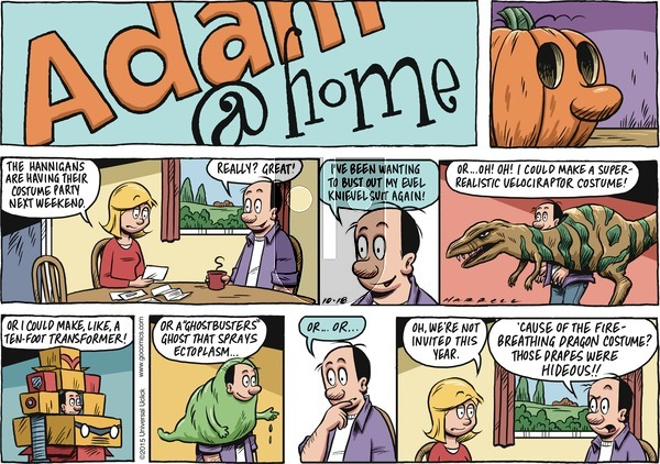 Adam@Home on Sunday October 18, 2015 Comic Strip