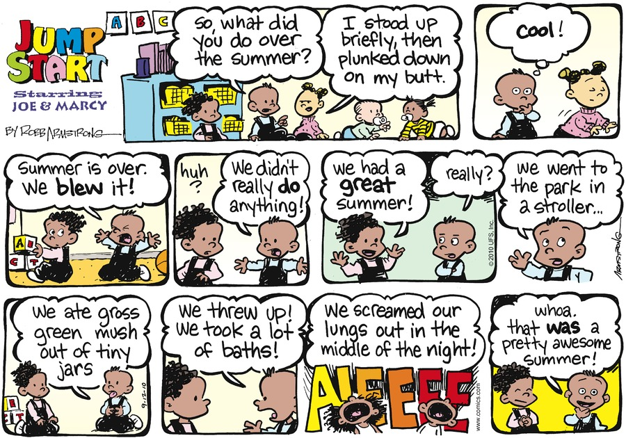 JumpStart for Sep 12, 2010 Comic Strip