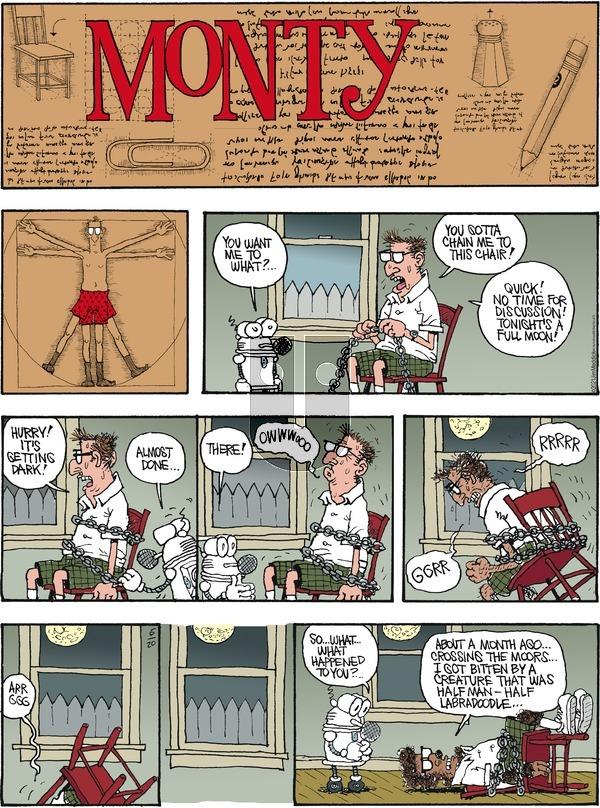 Monty on Sunday June 20, 2021 Comic Strip