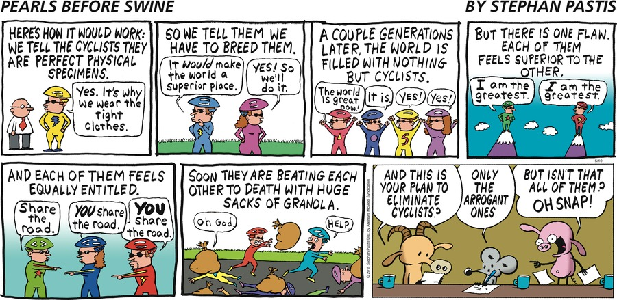 Pearls Before Swine Comic Strip for June 10, 2018
