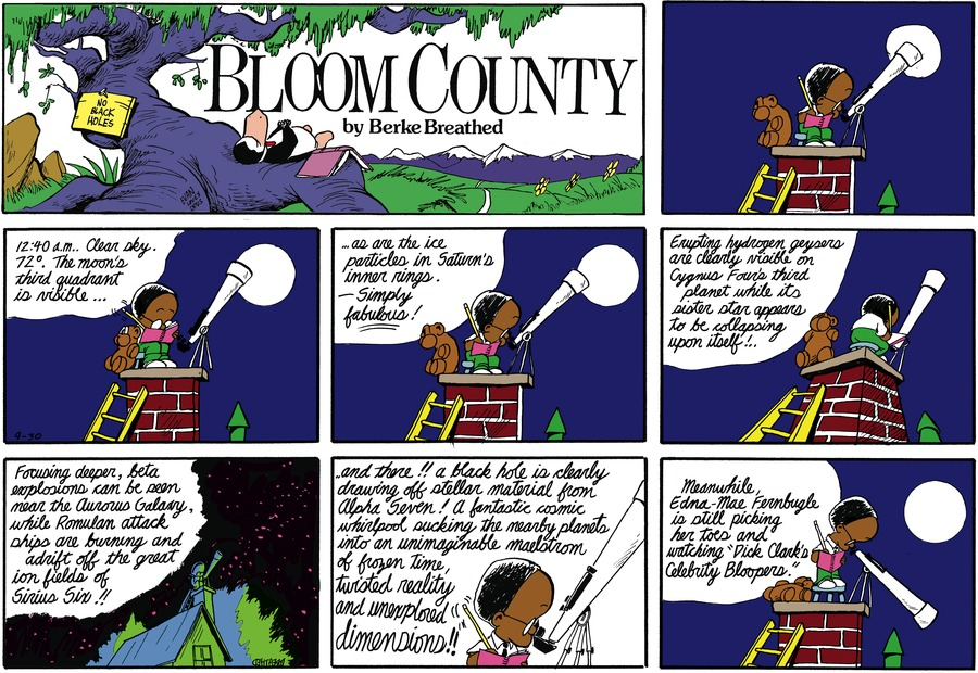 Bloom County by Berkeley Breathed on Mon, 31 Aug 2020