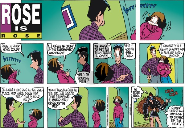Rose is Rose on November 18, 2018 Comic Strip
