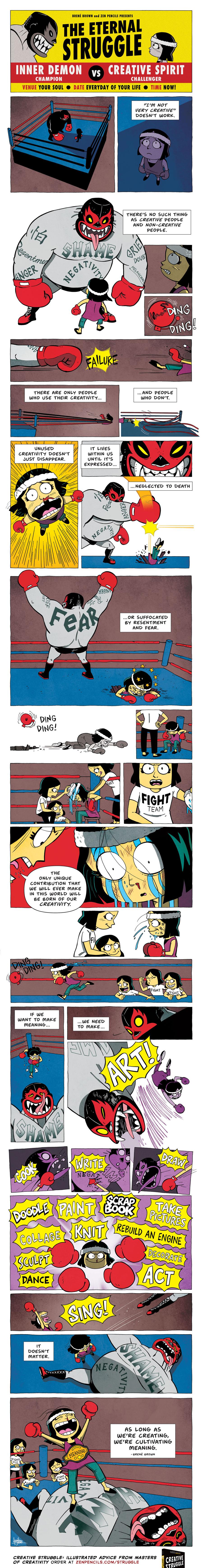Zen Pencils Comic Strip for June 17, 2019