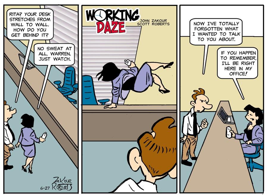 Working Daze Comic Strip for June 27, 2021