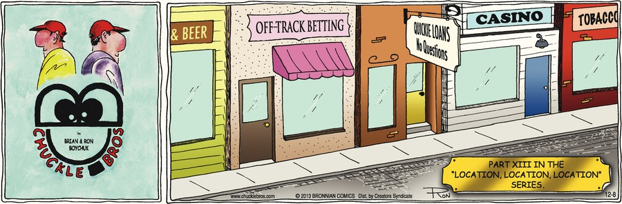 Chuckle Bros Comic Strip for December 08, 2013