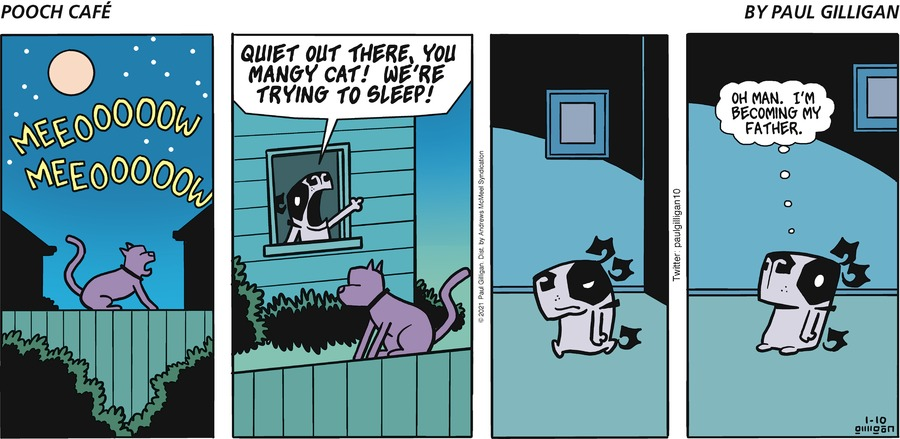 Pooch Cafe Comic Strip for January 10, 2021