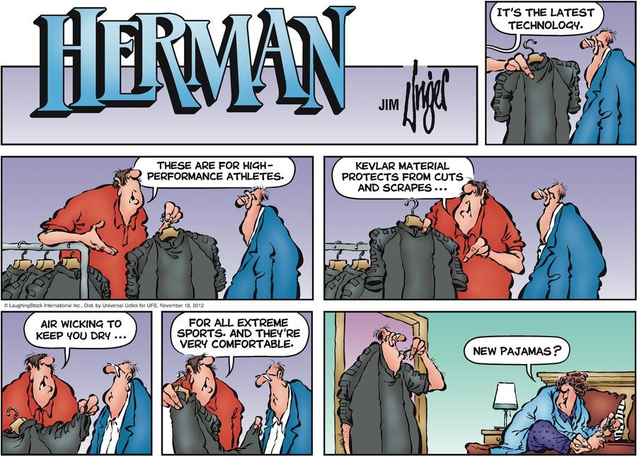 Herman for Nov 18, 2012 Comic Strip