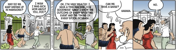 Alley Oop - Wednesday February 24, 2021 Comic Strip