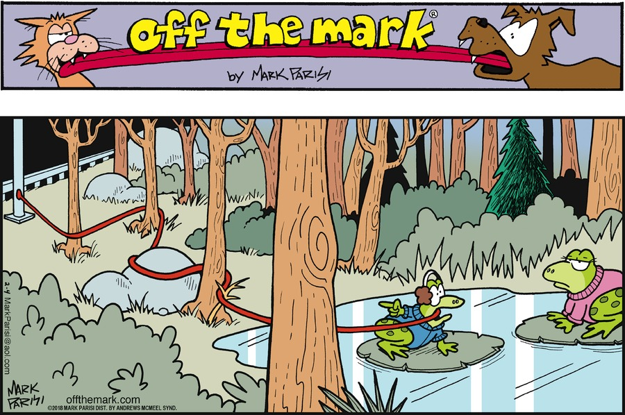 Off the Mark Comic Strip for February 04, 2018