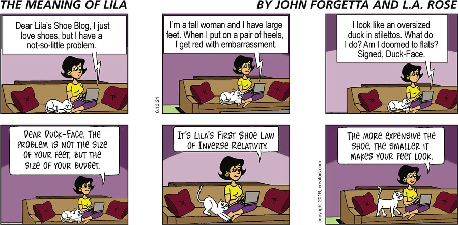 The Meaning of Lila Comic Strip for June 13, 2021