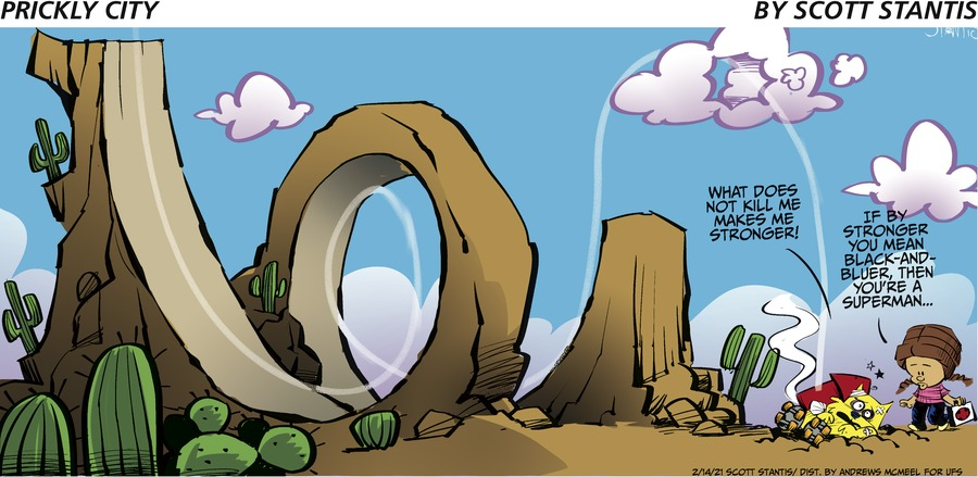 Prickly City Comic Strip for February 14, 2021