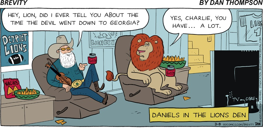 Brevity Comic Strip for March 08, 2020