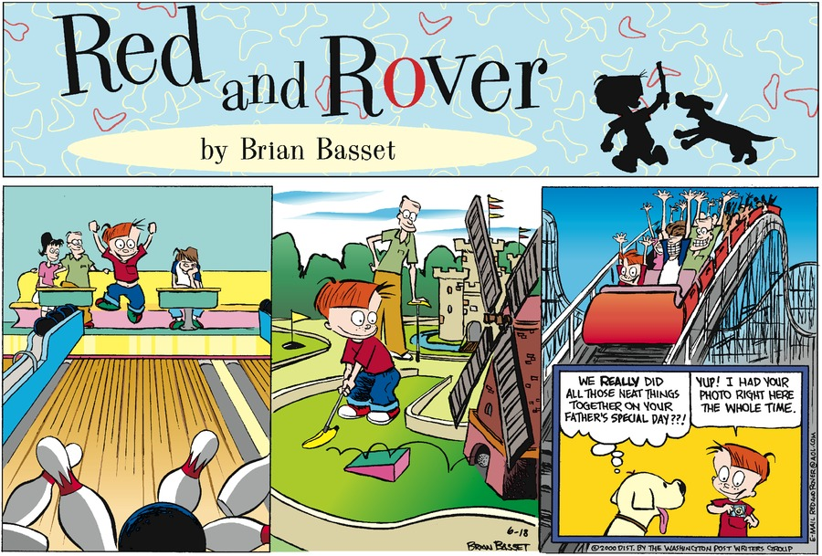 Red and Rover for Jun 18, 2000 Comic Strip