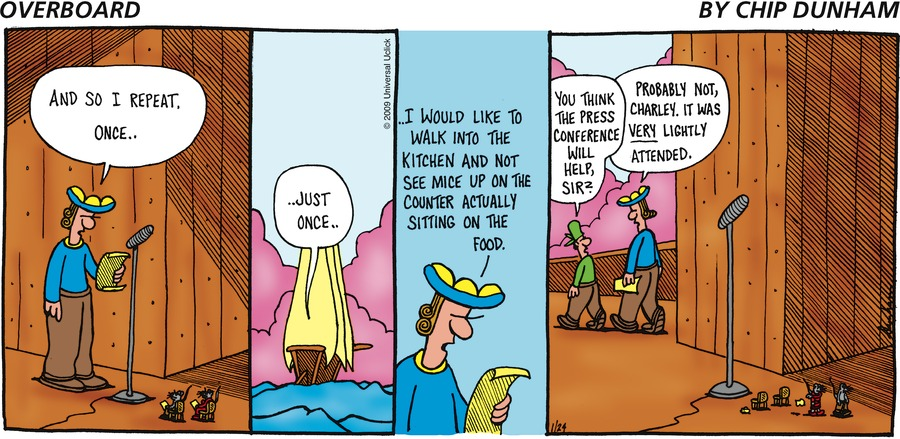 Overboard for Jan 24, 2010 Comic Strip