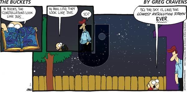 The Buckets - Sunday April 23, 2017 Comic Strip