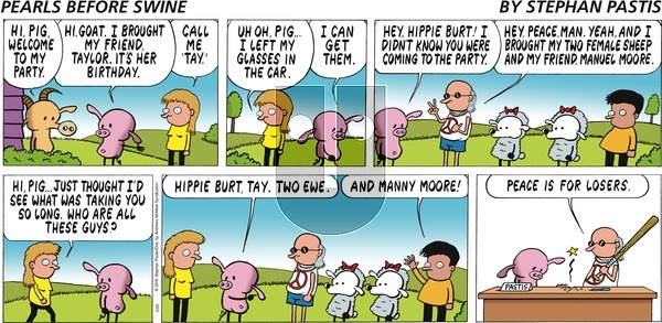 Pearls Before Swine on Sunday May 26, 2019 Comic Strip